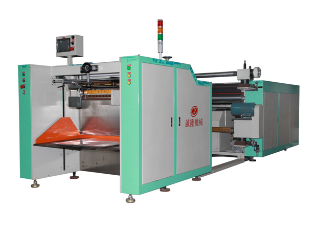 Fully Automatic Flattening and Slicing Machine with laminating/slitting/creasing/cut out/winding function