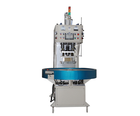 High Frequency Rotary Table Single/Dual Head Ear Cover Welding and Cutting Machine