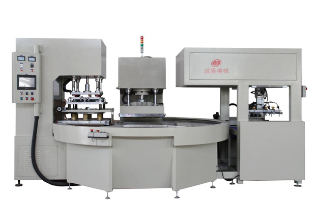Full Automatic High Frequency Rotary Table Welding and Cutting Machine