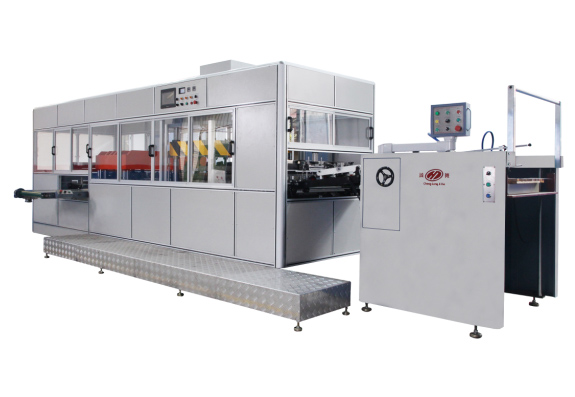 Intelligent High Frequency Soft-creasing Line Compound Machine